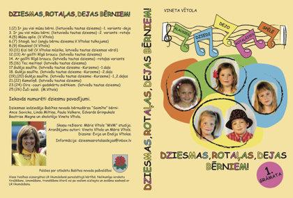 Dziesmas, rotaļas, dejas bērniem 1.daļa